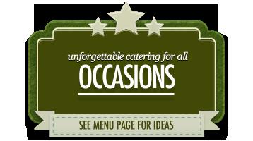 occasion catering scarborough