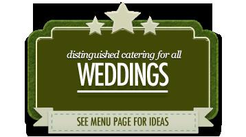 wedding catering scarborough